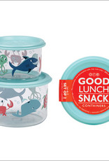 ocean lunch containers small FINAL SALE