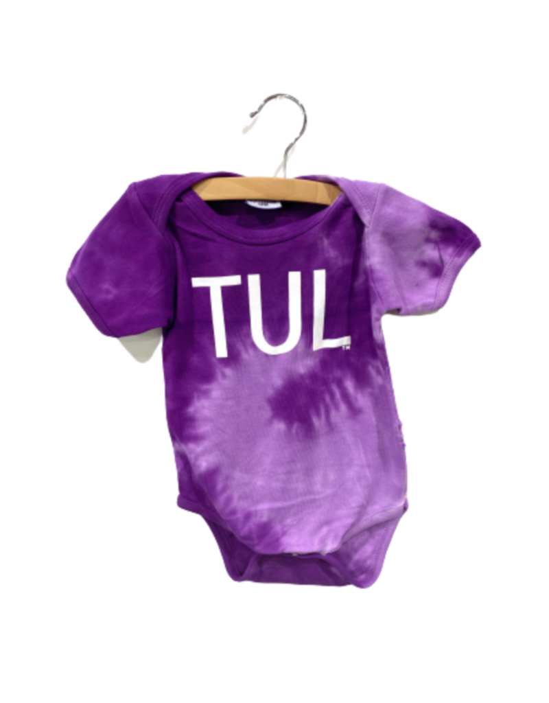 R+R infant TUL tie dye onesie