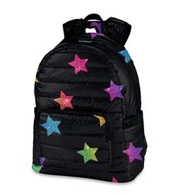 multi star puffer backpack