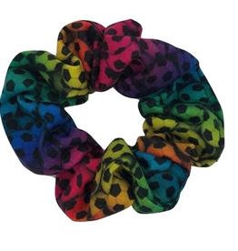 soccer scrunchie