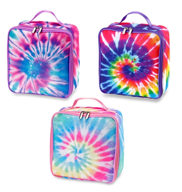 tie dye canvas lunchbox