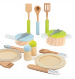 crockery & cookware set