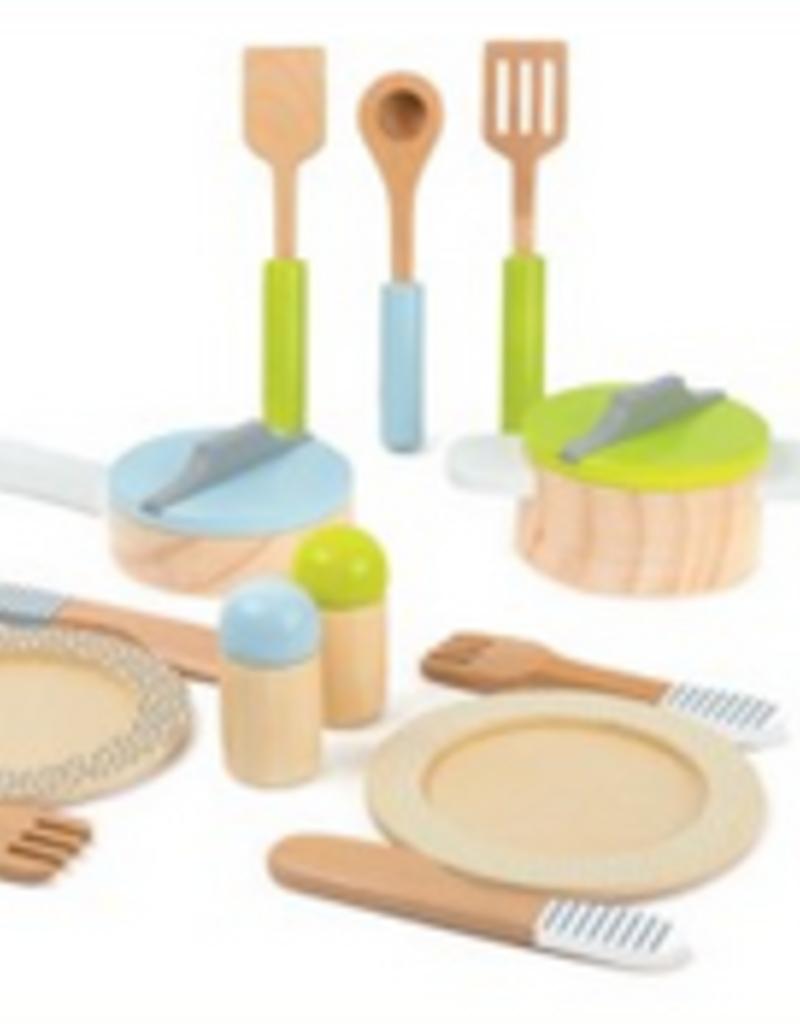 crockery & cookware set