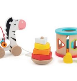 Legler zebra skills toy set