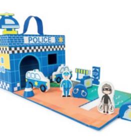 Legler police station play set
