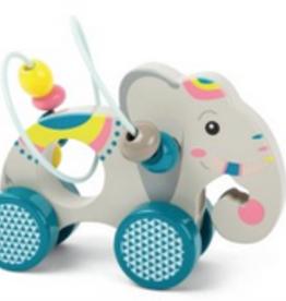 Legler elephant bead rollercoaster