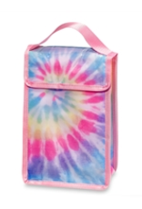 tie dye canvas snack bag