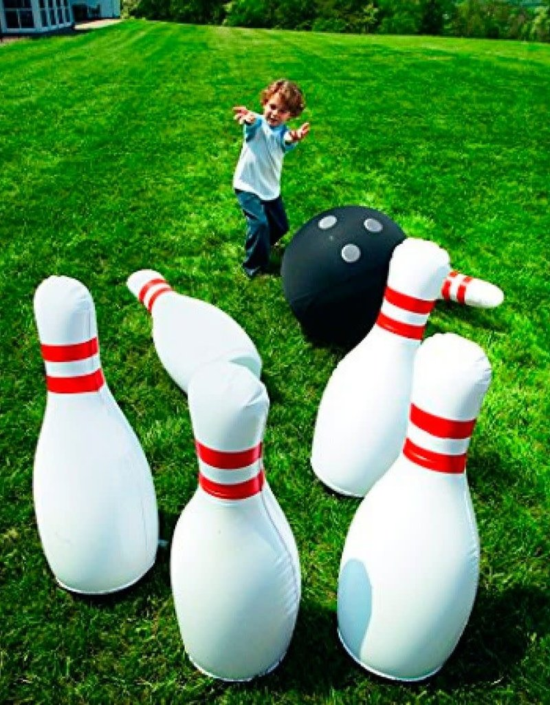 giant inflatable bowling set