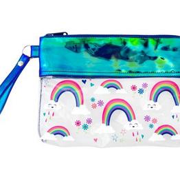 iridescent pouch FINAL SALE