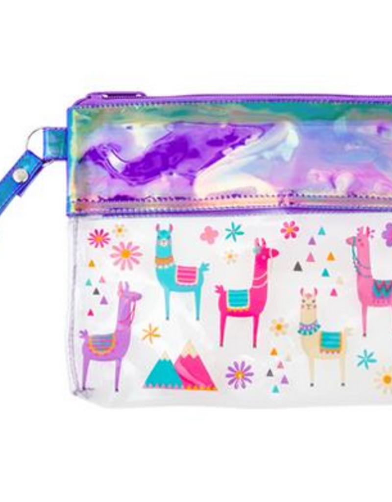 stephen joseph iridescent pouch