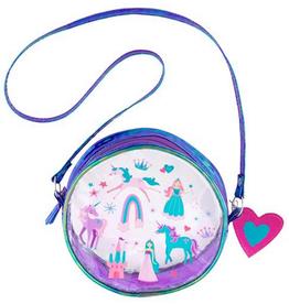 iridescent crossbody purse