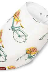 milkbarn bamboo kercheif floral bicycle