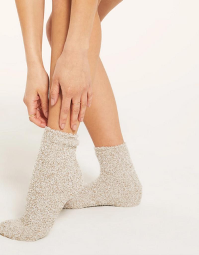 z supply plush socks - bone (set of 2)