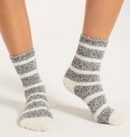z supply stripe plush socks