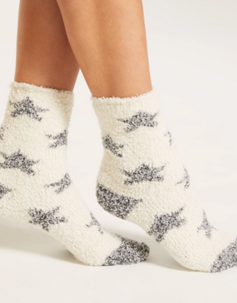 z supply star plush socks
