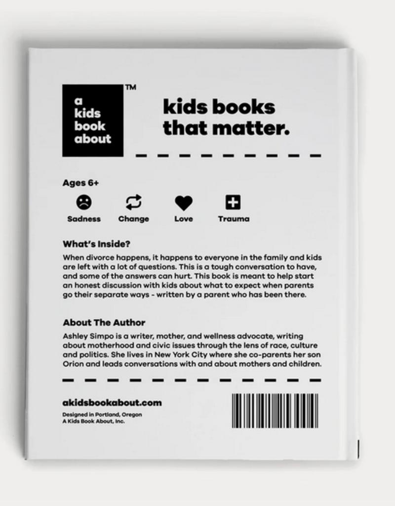 a kids book about divorce