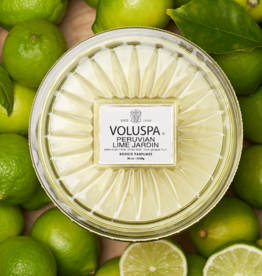 voluspa peruvian lime jardin corta maison candle