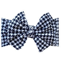 Baby Bling printed fab houndstooth