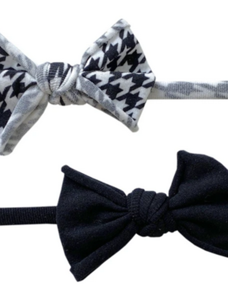 Baby Bling 2 set mini skinny houndstooth