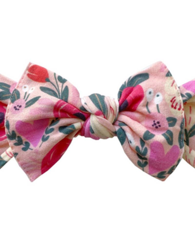 Baby Bling bae printed knot