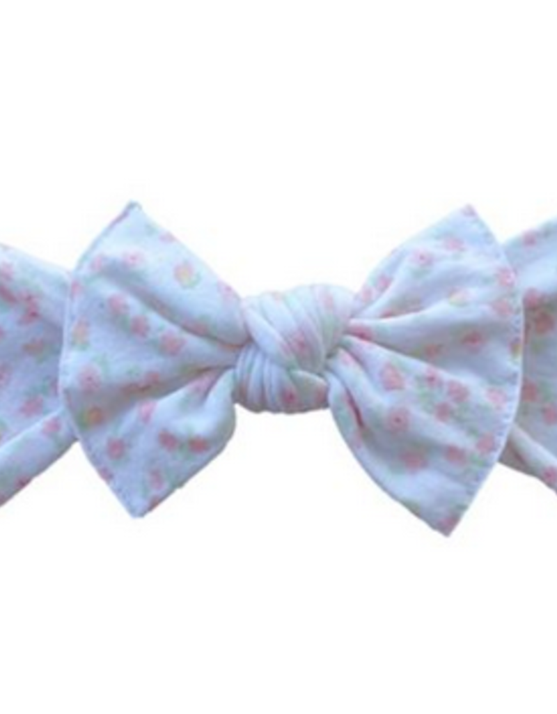 Baby Bling chamomile printed knot