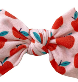 Baby Bling teachers pet printed knot