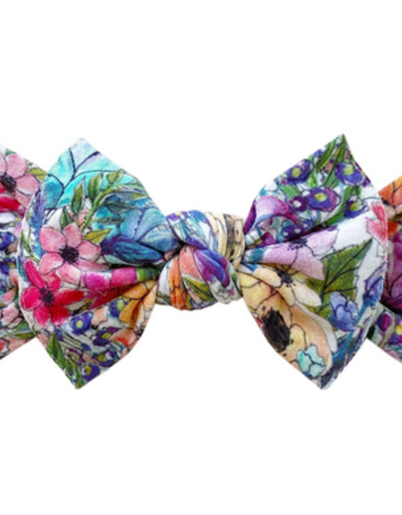 Baby Bling waterlily printed knot