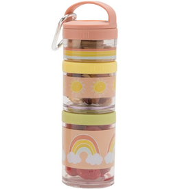 rainbows twist & snack stacker
