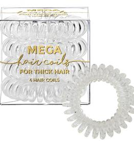 mega hair coil transparent