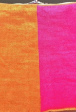 haute shore orange & pink neckwarmer