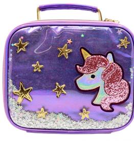 unicorn star confetti lunchbox