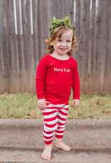 embroidered christmas pajamas FINAL SALE