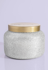 capri blue frosted fireside jumbo glam jar 48oz
