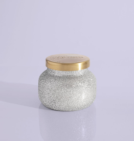 capri blue frosted fireside glam jar 8oz