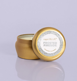 capri blue frosted fireside glam mini tin 3oz