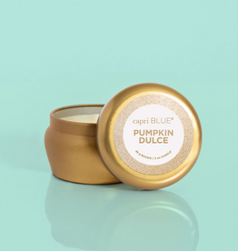 capri blue pumpkin dulce glam mini tin 3oz