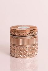 capri blue pink grapefruit & prosecco gilded faceted jar 11oz