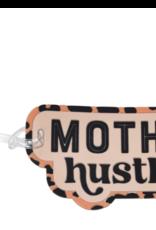mother hustler luggage tag