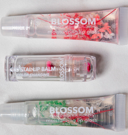 blossom 3 piece lip gloss and color changing lip gloss gift set