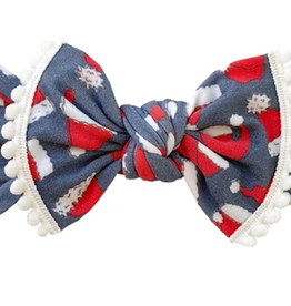 Baby Bling hobow printed knot