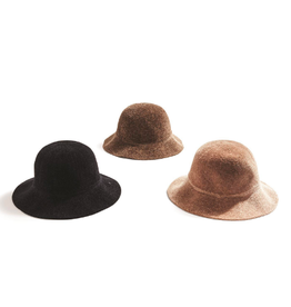 two's company chenille bucket hat
