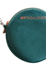my tagalongs mask pouch vixen teal