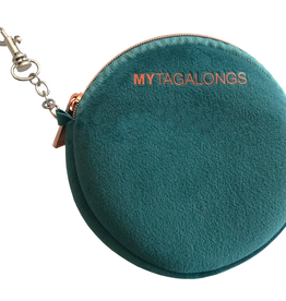 my tagalongs mask pouch vixen teal