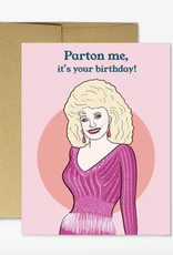 dolly birthday card