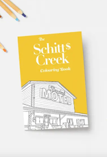 schitt's creek colouring book