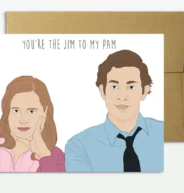 party mountain paper co jim to my pam card