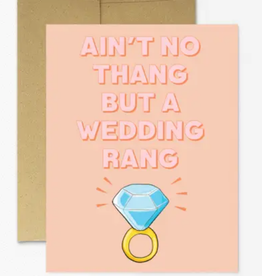 party mountain paper co ain't no thang card