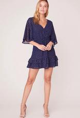 bb dakota hot dots mini dress