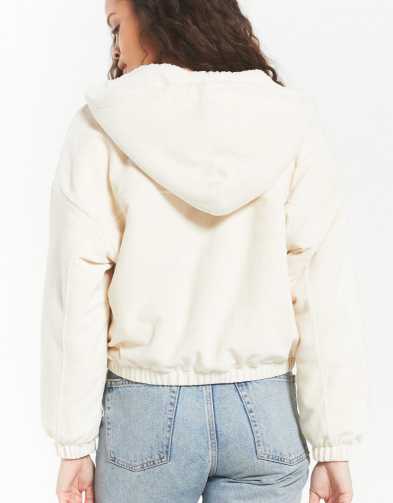 z supply the camille cord bomber
