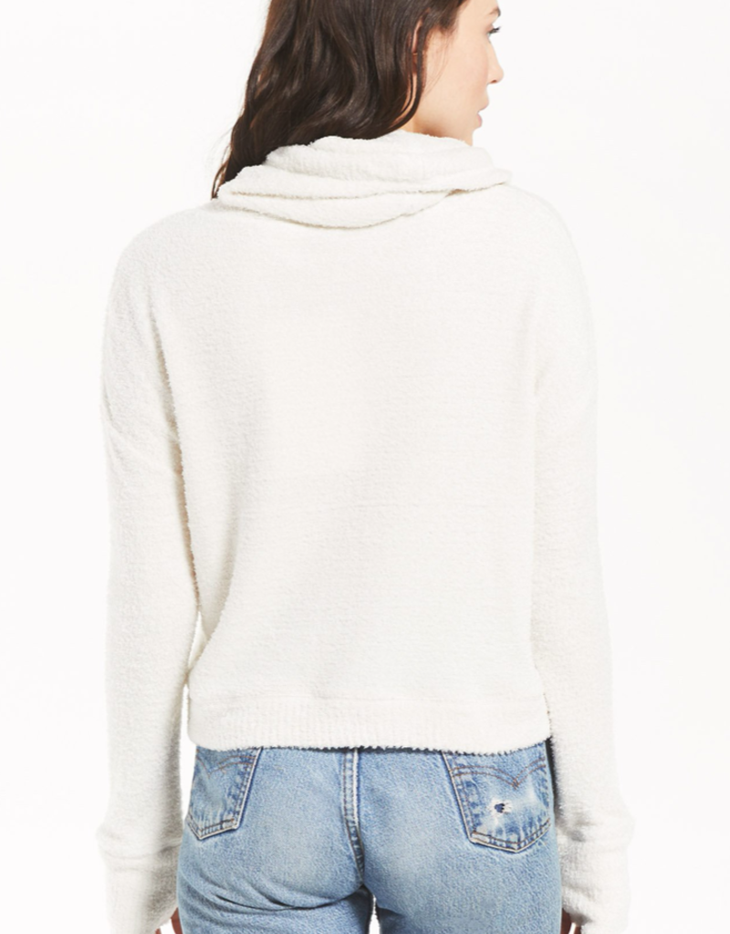 z supply the kacey feather hoodie final sale